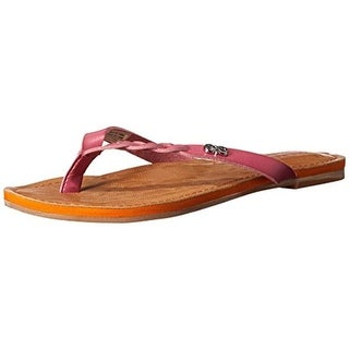 Cole Haan Girls Sorority Braided Slip On Thong Sandals - 1