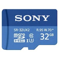 Sony SR-32UX2A/LT High Speed R95/W70 Max micro SD Memory Card (32GB) - BLue