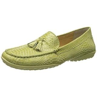 VANELi Womens Aleka Leather Tassel Loafers