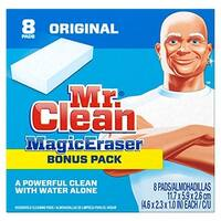 Dot Foods 04508 Mr. Clean Magic Eraser Cleaning Pads, 8 Box