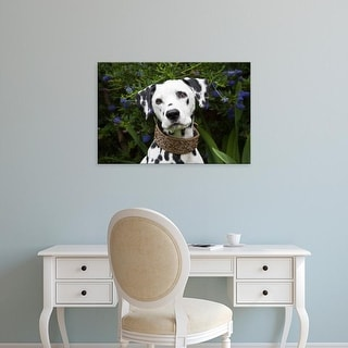 Easy Art Prints Zandria Muench Beraldo's 'Portrait Of A Dalmatian' Premium Canvas Art