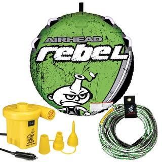 Airhead rebel kit deck tube, pump, tube rope|https://ak1.ostkcdn.com/images/products/is/images/direct/1b63120edea8c6c2198a3f09dfb9e78654feb2c8/Airhead-rebel-kit-deck-tube%2C-pump%2C-tube-rope.jpg?impolicy=medium