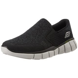 Skechers Sport Men's Equalizer 2.0 Slip-on Loafer, Black/White