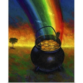 """Pot of Gold"" Poster Print"