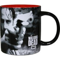 The Walking Dead Rick and Daryl 20oz Coffee Mug with Zombie Mold