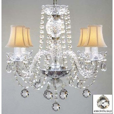 Swarovski Crystal Trimmed Chandelier Lighting Murano Venetian Style