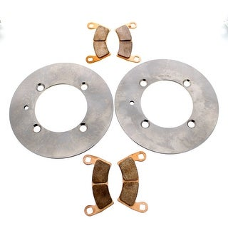 Brake Rotors and Brake Pads Polaris RZR S4 900 2018 Front MudRat by Race-Driven