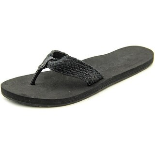 Reef Mallory Open Toe Canvas Flip Flop Sandal