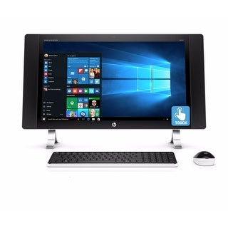 """Manufacturer Refurbished - HP ENVY 27-P014 27"""" Touch AIO Desktop Intel i5-6400T 2.2GHz 12GB 1TB Window 10