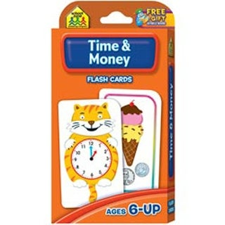 Time and Money 50/Pkg - Flash Cards