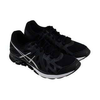 Asics Gel Defiant Mens Black Mesh & synthetic Athletic Lace Up Training Shoes