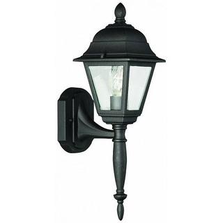 Thomas Lighting SL7977 Windbrook 1 Light Outdoor Wall Lantern in Black Finish