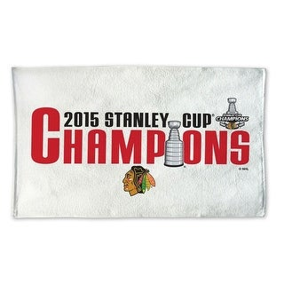 Chicago Blackhawks 2015 Stanley Cup Champions 21 x 44 Towel