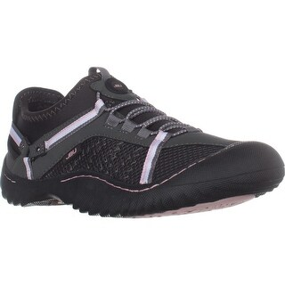 JBU Jambu Tahoe Max Casual Sneakers, Charcoal/Pink