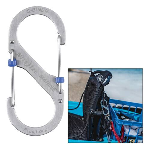 Nite ize s-biner marine slidelock #4