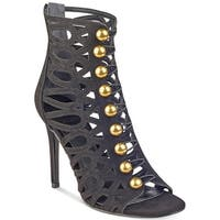 Guess Womens Perlina2 Leather Open Toe Special Occasion Strappy Sandals