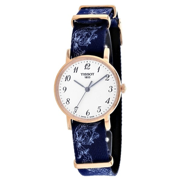82a9b468ceb Shop Tissot Women's Everytime Silver Dial Watch - Free Shipping Today -  Overstock - 25739248