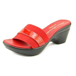 Athena Alexander Brandy Women Open Toe Synthetic Slides Sandal