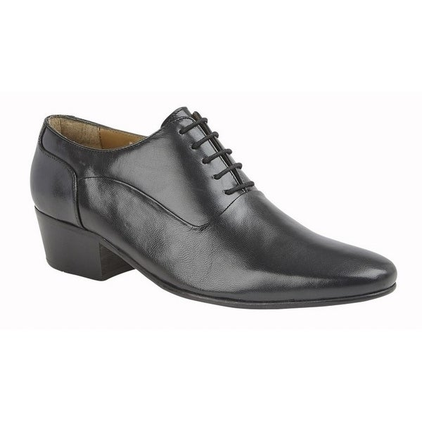 black leather shoes price
