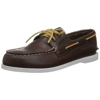 Sperry Top Sider Leather Original Slip On Boat Shoe
