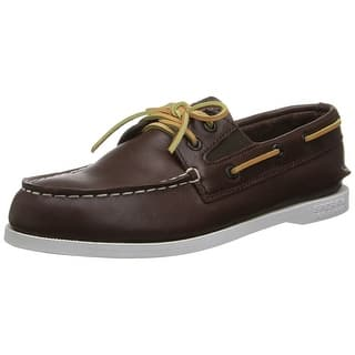 Sperry Top Sider Leather Original Slip On Boat Shoe|https://ak1.ostkcdn.com/images/products/is/images/direct/1b6dc63e8f37565cf009a558c28cb3c578522ba5/Sperry-Top-Sider-Leather-Original-Slip-On-Boat-Shoe.jpg?impolicy=medium