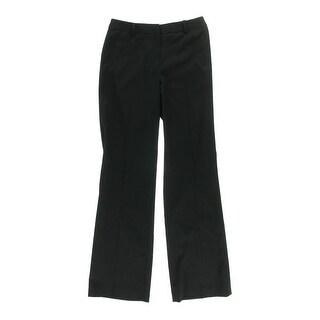 Anne Klein Womens Flat Front Flare Leg Dress Pants - 14