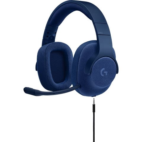 Logitech 981-000681 g433 7.1 wired gmng hdst blue