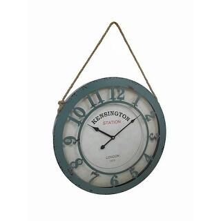 Kensington Station 20 Inch Diameter Wall Clock