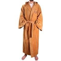 Star Wars Jedi Master Men's Hooded Bathrobe - Brown