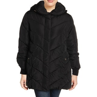 Link to Steve Madden Women's Plus Size Water Resistant Quilted Winter Puffer Coat Similar Items in Women's Outerwear