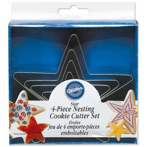 Wilton W1215 Nesting Metal Cookie Cutters