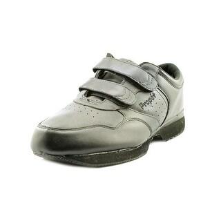 Propet Life Walker Strap 5E Round Toe Leather Walking Shoe