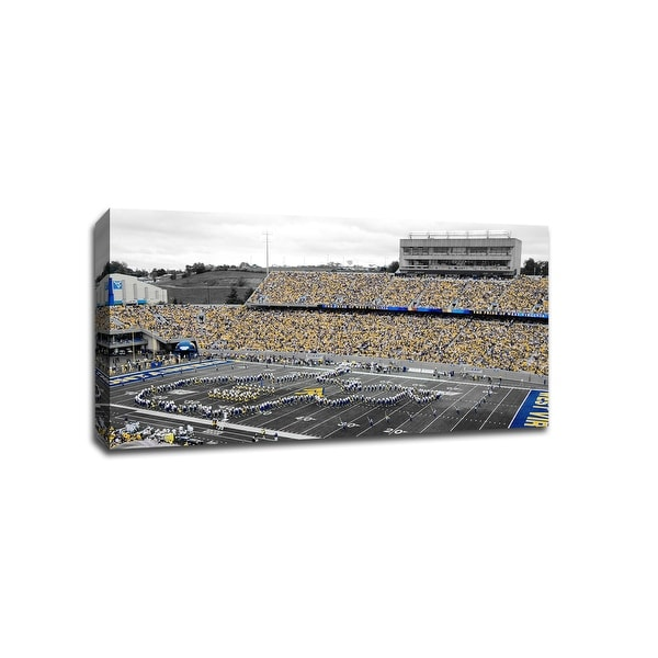West Virginia Mountaineers - CollegeFootball - 40x22 Gallery Wrapped Canvas ToC