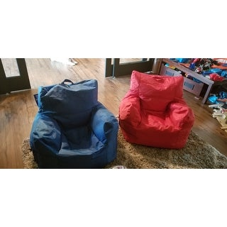 Shop Big Joe Dorm Bean Bag Chair Free Shipping Today