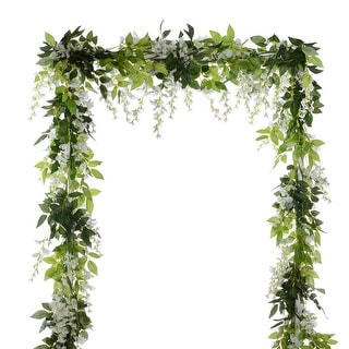 Link to Garden Outdoor Ceremony Wedding Arch Floral Decor (White) Similar Items in Decorative Accessories