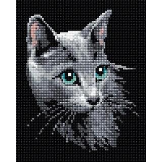 "Riolis Diamond Mosaic Embroidery Kit 7.75""X9.75""-Russian Blue"