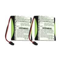 Replacement Battery For Panasonic KX-T800 Cordless Phones - P504 (700mAh, 3.6v, NiMH) - 2 Pack