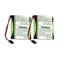 Replacement Battery For Panasonic KX-TG4000B Cordless Phones - P504 (700mAh, 3.6v, NiMH) - 2 Pack