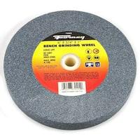 "Forney 72402 Bench Grinding Wheel, Fine 80 Grit, 6"" x 3/4"" x 1"" Arbor"