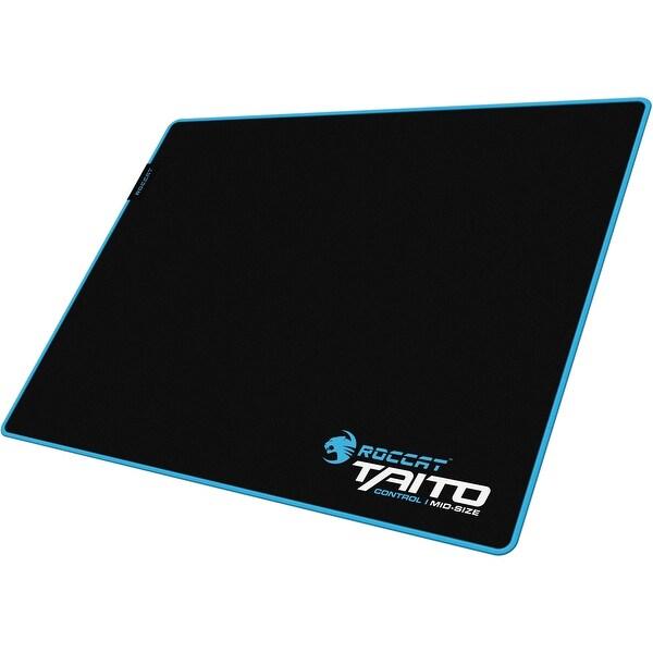 Roccat Roc-13-170-Am Taito Control Endurance Gaming Mousepad, Black/Blue