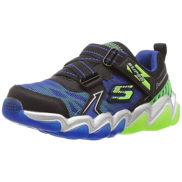 0162c81b635e Shop Skechers Kids Boys' Skech-Air 3.0-Downswitch Sneaker,Black/Blue ...