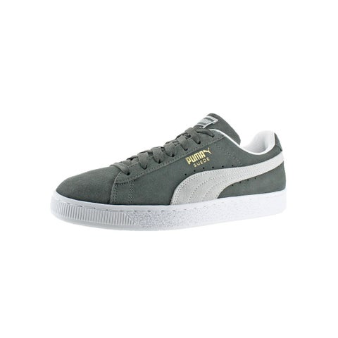 Puma Mens Suede Classic Fashion Sneakers Round Toe Casual