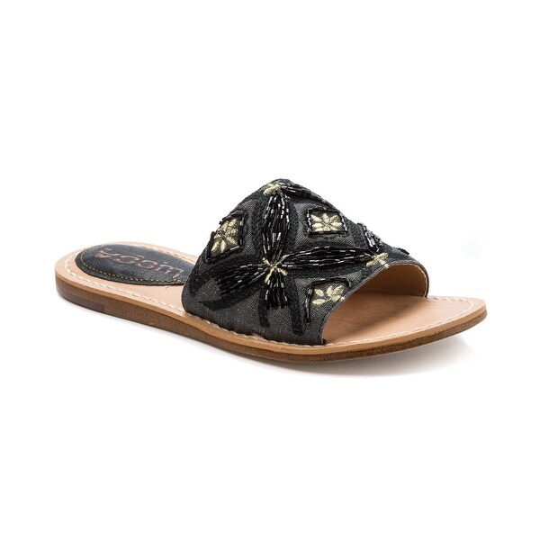 Lucca Lane Valia Women's Sandals & Flip Flops Black