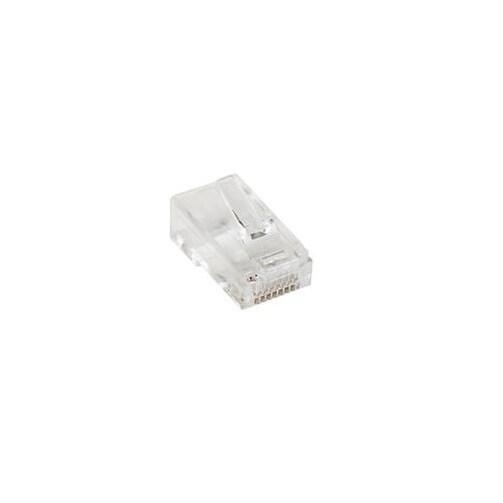 Startech Crj4550pk Cat5e Rj45 Stranded Modular Plug Connector - 50 Pkg