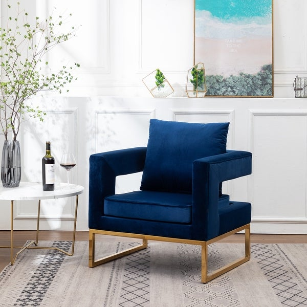 Lenola Contemporary Upholstered Accent Arm Chair. Opens flyout.