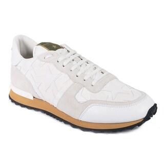 Valentino Men's Canvas Camustars Rockrunner Sneakers