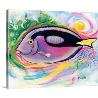 """""""Jaz"""" Canvas Wall Art"""