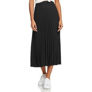 Bardot Womens Sunray Pleated Skirt Chiffon Pleated