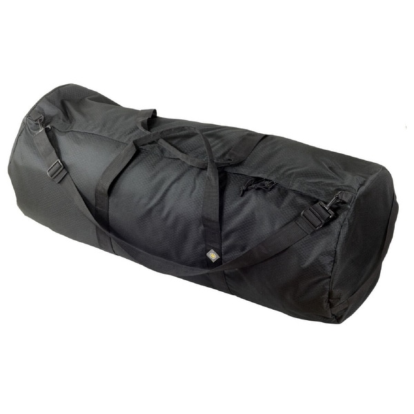 "North Star Sport Duffle Bag 18"" Diam 42"" L - Midnight Black SD1842DLXMB"