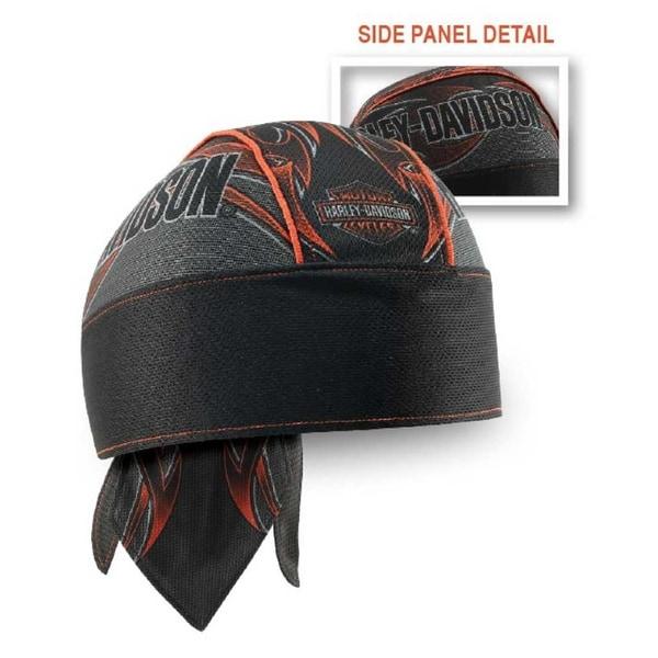 Harley-Davidson Men/'s Patriotic Grunge Perforated Headwrap Black HW29084